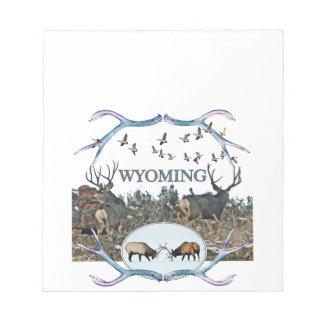 WYOMING wildlife Notepad