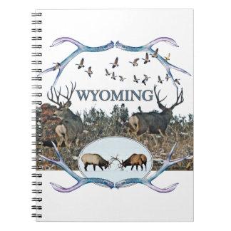 WYOMING wildlife Spiral Note Books