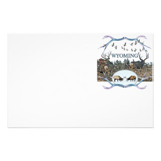 WYOMING wildlife Stationery