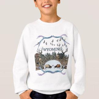 WYOMING wildlife Sweatshirt