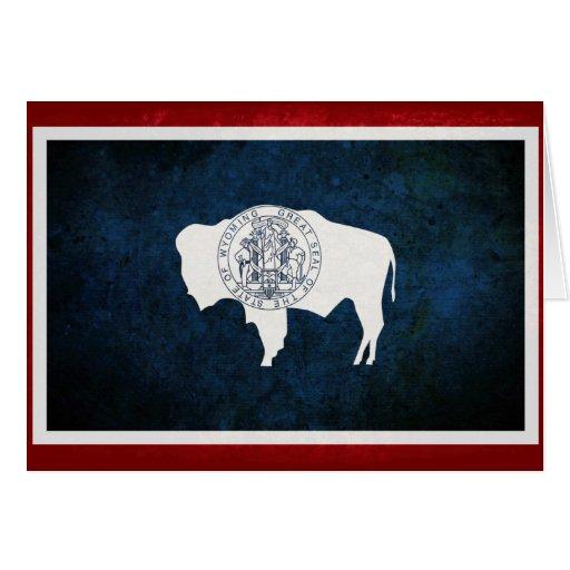 Wyomingite Flag Cards