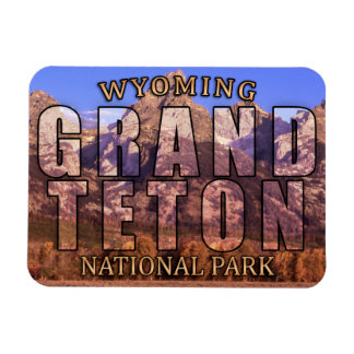 Wyoming's Grand Teton National Park Magnet