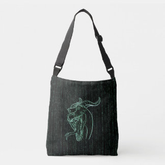 Wyrm in the Shell Crossbody Bag