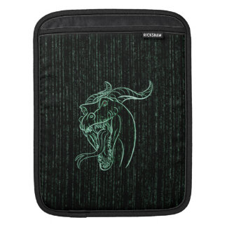 Wyrm in the Shell iPad Sleeve