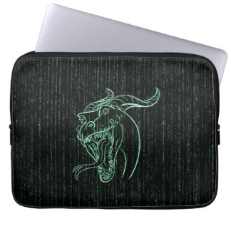 Wyrm in the Shell Laptop Sleeve