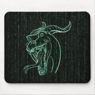 Wyrm in the Shell Mouse Pad