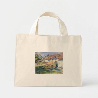 Wyspianski Hut in Grebow 1900 1 Canvas Bags