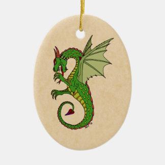 Wyvern Ceramic Ornament