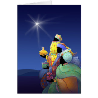 X007 Three Wise Men Greeting Card