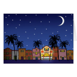 X011 Holiday House Greeting Card