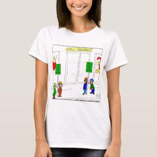 x09 Child care parking at mall cartoon T-Shirt