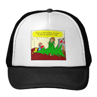 x46 father wanted to help cartoon mesh hats