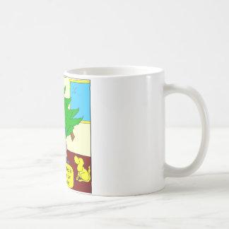 x52 indoor toilet cartoon basic white mug