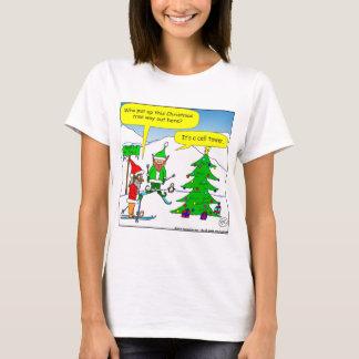 x56 cell tower christmas tree cartoon T-Shirt