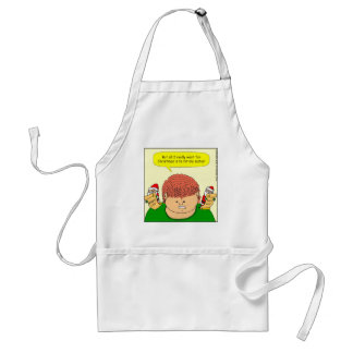 x60 want to hit my sister cartoon aprons