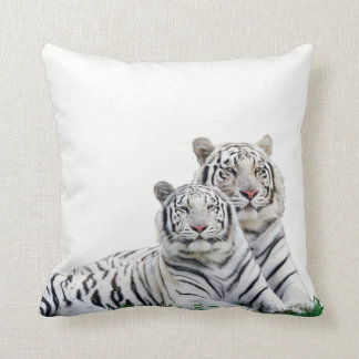 x almofada 40,64 40,64 cm - Designer Couple Tigers Throw Pillow