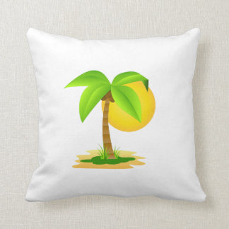 x almofada 40,6 40,6 cm - Designer Coconut palm Cushion