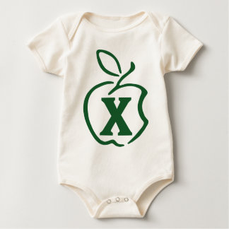 X-apple Baby Bodysuit