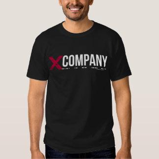 X Company Logo Tee Shirts