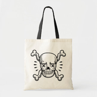 X-Eyed Pirate Canvas Bags