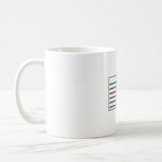 X-generation mug