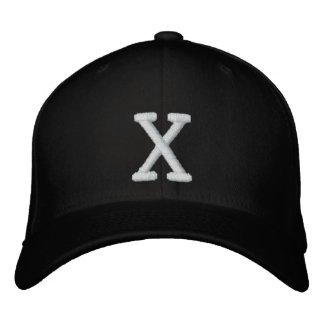 X-Hat Embroidered Hat