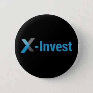 X-Invest 6 Cm Round Badge