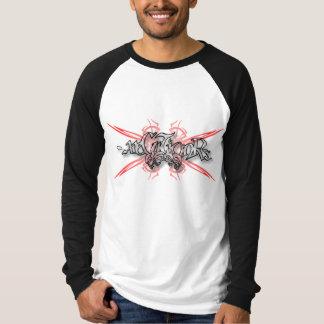 -x Long Sleeve Tee 001 - Tribal Skulls