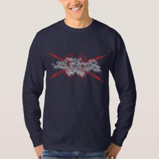 -x Long Sleeve Tee 003 - Tribal Skulls