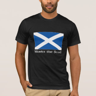 X Marks the Scot - Black T-Shirt