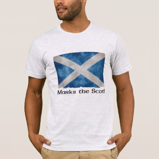 X Marks the Scot - Light Grey T-Shirt