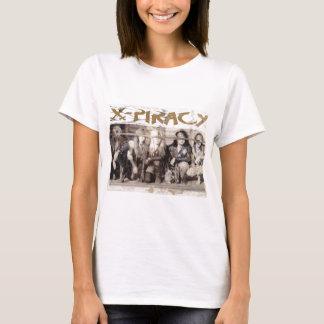 X-Piracy Logo eyes jpg. T-Shirt