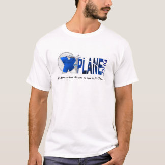 X-Plane.Org Website Logo T-Shirt