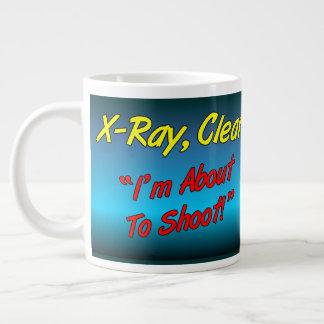 X-Ray,Clear Giant Coffee Mug