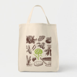 X-Ray Greenmarket Grocery Tote Grocery Tote Bag