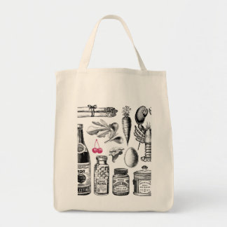 X-Ray Grocery Bag Organic Tote