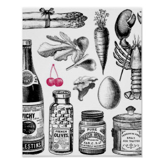 X-Ray Grocery Bag Poster