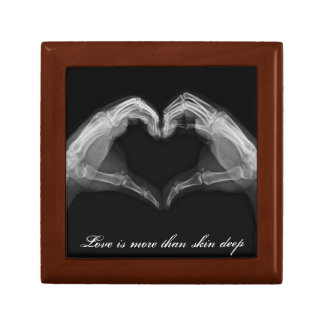 X-Ray Heart Love Jewelry Box