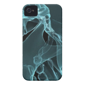 x-ray my skull blue iPhone 4 cases