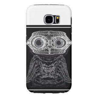 X-ray Owl Samsung Galaxy S6 Cases
