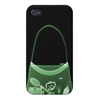 X-RAY PURSE - GREEN COVER FOR iPhone 4