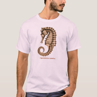 X-Ray Sea horse Hippocampus erectus Front/Back T-Shirt