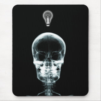 X-RAY SKELETON BRIGHT IDEA - ORIGINAL MOUSE PAD