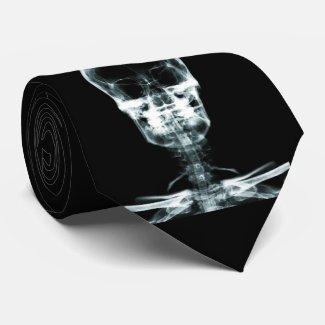 X-Ray Skeleton - Halloween - Radiology - Doctors Tie