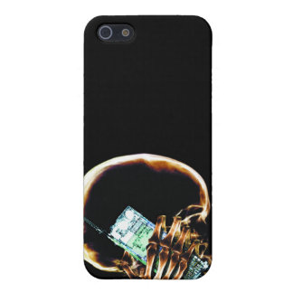 X-RAY SKELETON ON - ORIGINAL iPhone 5/5S COVERS