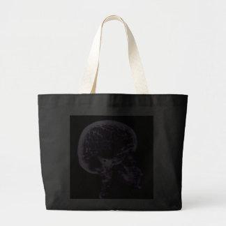 X-RAY SKULL BRAIN - PURPLE BAG