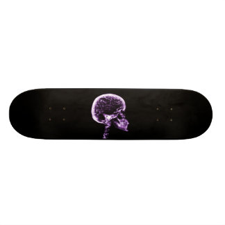 X-RAY SKULL BRAIN - PURPLE SKATEBOARD DECK