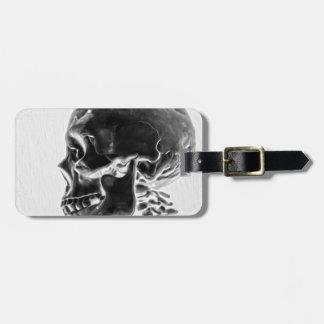 X-Ray Skull Luggage Tag