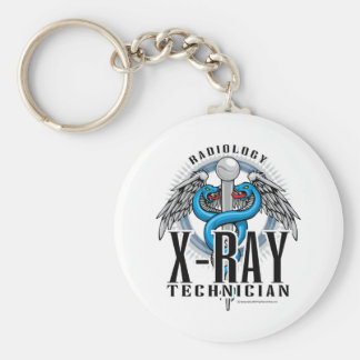 X-Ray Tech Caduceus Key Ring