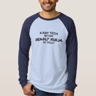 X-Ray Tech Deadly Ninja T-shirt